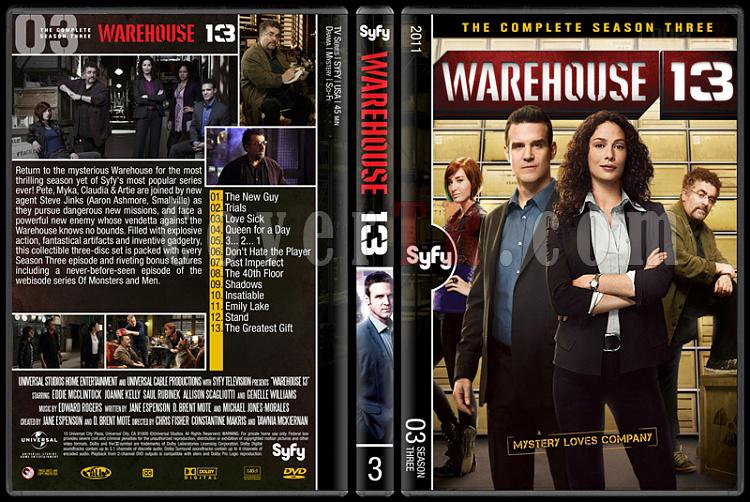 Warehouse 13 (Seasons 1-4) - Custom Dvd Cover Set - English [2009-?]-3jpg