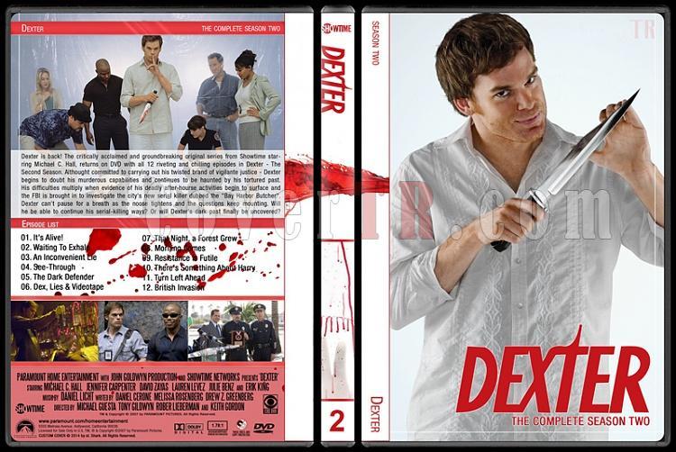 Dexter (Seasons 1-8) - Custom Dvd Cover Set - English [2006-2013]-2jpg