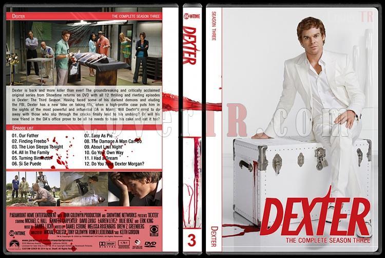 Dexter (Seasons 1-8) - Custom Dvd Cover Set - English [2006-2013]-3jpg