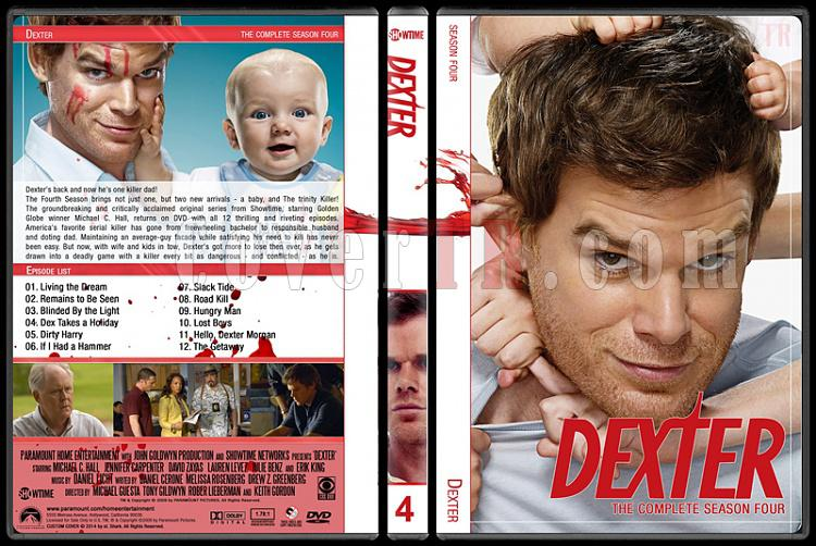 Dexter (Seasons 1-8) - Custom Dvd Cover Set - English [2006-2013]-4jpg
