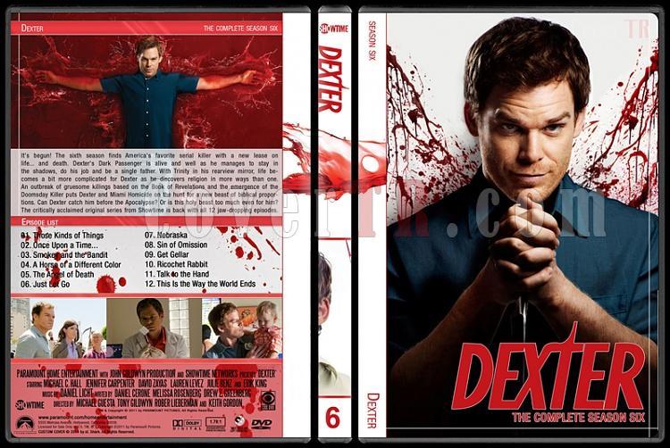 Dexter (Seasons 1-8) - Custom Dvd Cover Set - English [2006-2013]-6jpg