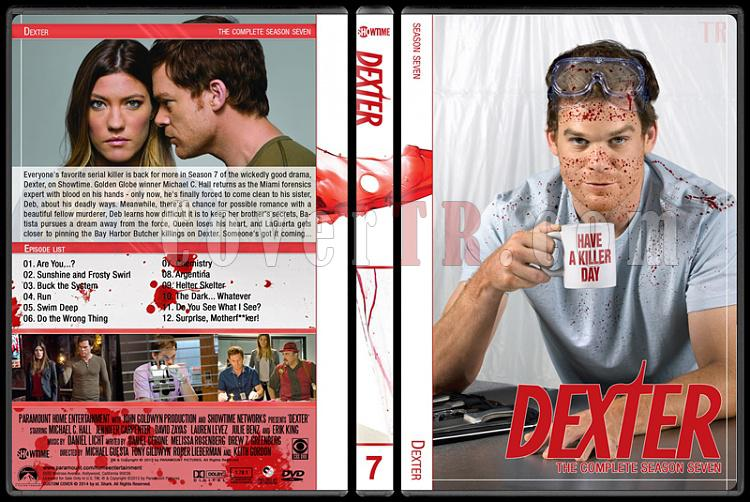 Dexter (Seasons 1-8) - Custom Dvd Cover Set - English [2006-2013]-7jpg