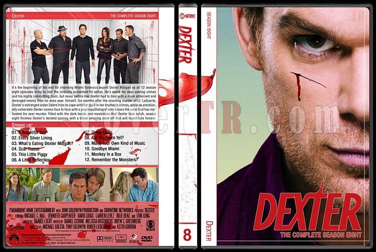 Dexter (Seasons 1-8) - Custom Dvd Cover Set - English [2006-2013]-8jpg
