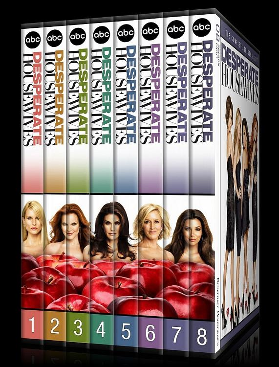 Desperate Housewives (Seasons 1-8) - Custom Dvd Cover Set - English [2004-2012]-0jpg