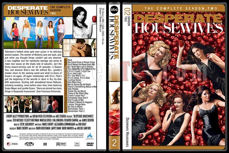 Desperate Housewives (Seasons 1-8) - Custom Dvd Cover Set - English [2004-2012]-2jpg