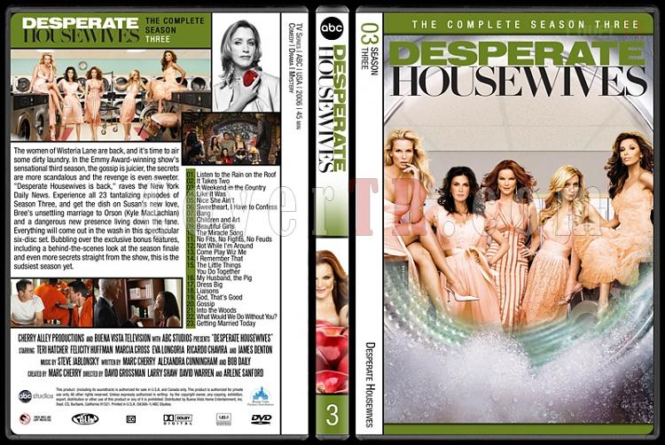 Desperate Housewives (Seasons 1-8) - Custom Dvd Cover Set - English [2004-2012]-3jpg