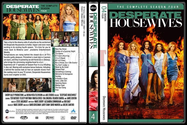 Desperate Housewives (Seasons 1-8) - Custom Dvd Cover Set - English [2004-2012]-4jpg