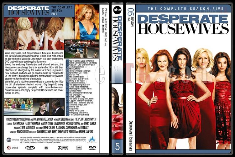 Desperate Housewives (Seasons 1-8) - Custom Dvd Cover Set - English [2004-2012]-5jpg