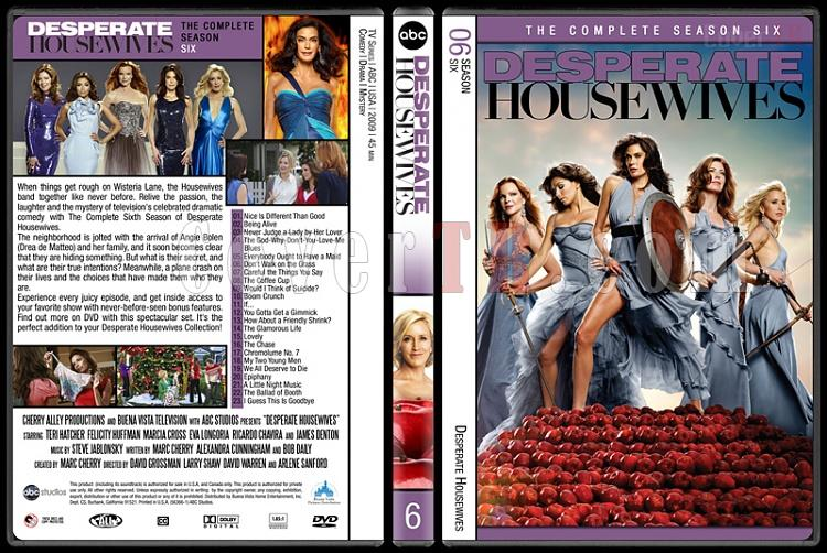 Desperate Housewives (Seasons 1-8) - Custom Dvd Cover Set - English [2004-2012]-6jpg