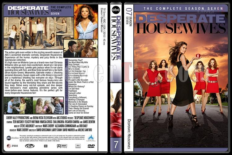 Desperate Housewives (Seasons 1-8) - Custom Dvd Cover Set - English [2004-2012]-7jpg