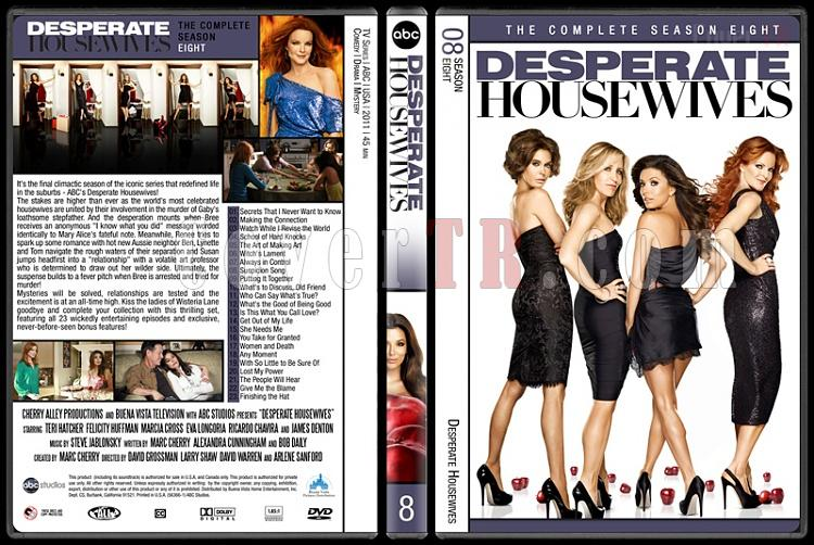 Desperate Housewives (Seasons 1-8) - Custom Dvd Cover Set - English [2004-2012]-8jpg
