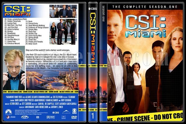 CSI: Miami (Seasons 1-10) - Custom Dvd Cover Set - English [2002-2012]-1jpg