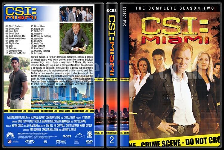 CSI: Miami (Seasons 1-10) - Custom Dvd Cover Set - English [2002-2012]-2jpg