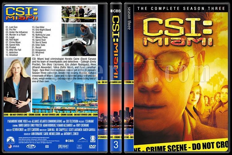 CSI: Miami (Seasons 1-10) - Custom Dvd Cover Set - English [2002-2012]-3jpg