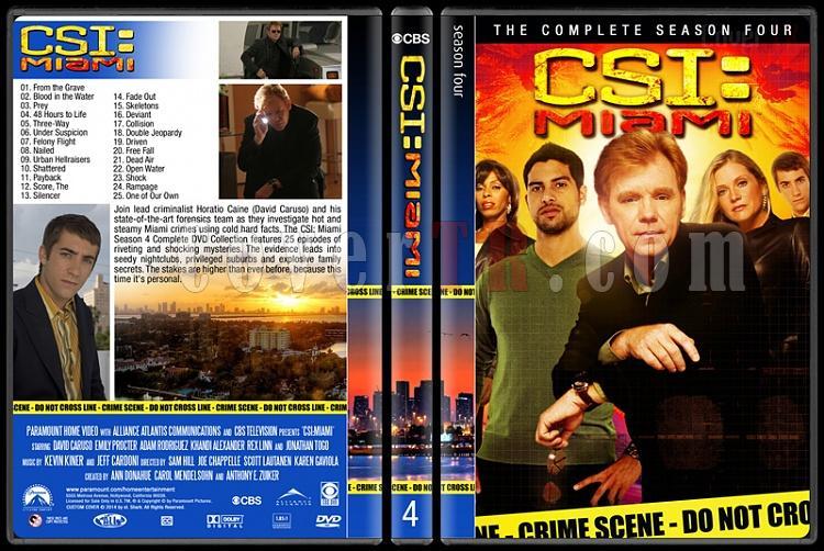 CSI: Miami (Seasons 1-10) - Custom Dvd Cover Set - English [2002-2012]-4jpg