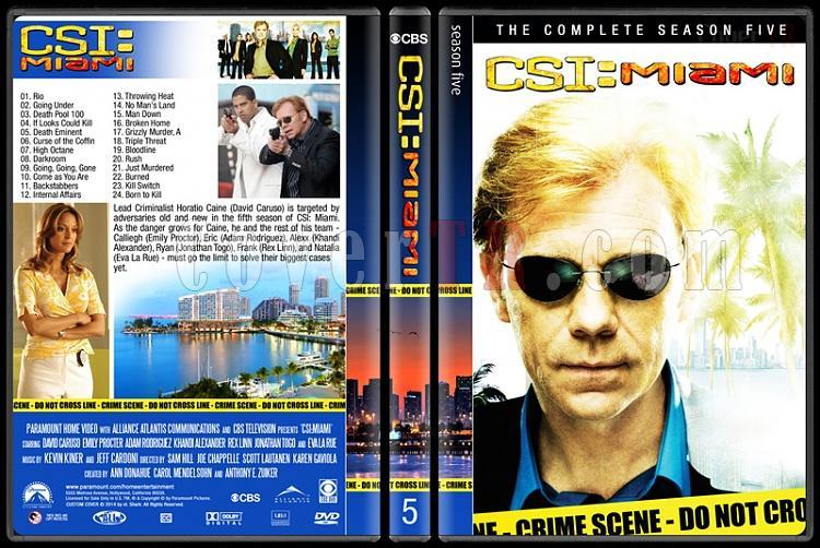 CSI: Miami (Seasons 1-10) - Custom Dvd Cover Set - English [2002-2012]-5jpg