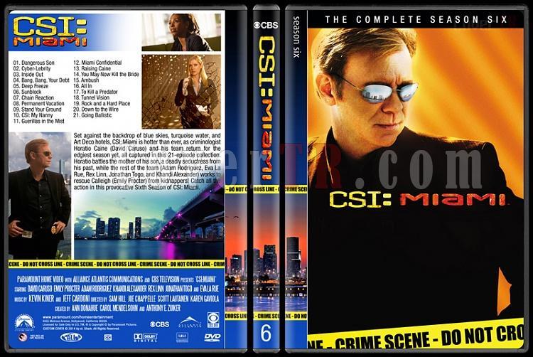 CSI: Miami (Seasons 1-10) - Custom Dvd Cover Set - English [2002-2012]-6jpg