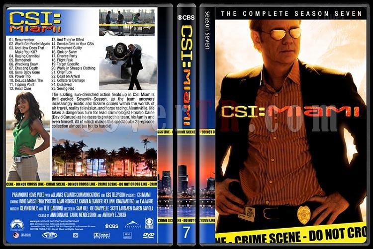 CSI: Miami (Seasons 1-10) - Custom Dvd Cover Set - English [2002-2012]-7jpg