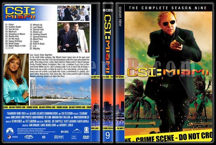 CSI: Miami (Seasons 1-10) - Custom Dvd Cover Set - English [2002-2012]-9jpg