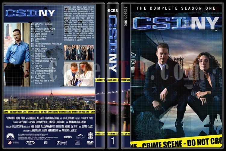 CSI: NY (Seasons 1-9) - Custom Dvd Cover Set - English [2004-2013]-1jpg