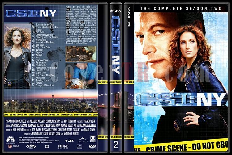 CSI: NY (Seasons 1-9) - Custom Dvd Cover Set - English [2004-2013]-2jpg