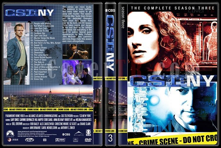 CSI: NY (Seasons 1-9) - Custom Dvd Cover Set - English [2004-2013]-3jpg