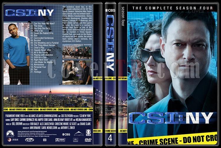 CSI: NY (Seasons 1-9) - Custom Dvd Cover Set - English [2004-2013]-4jpg