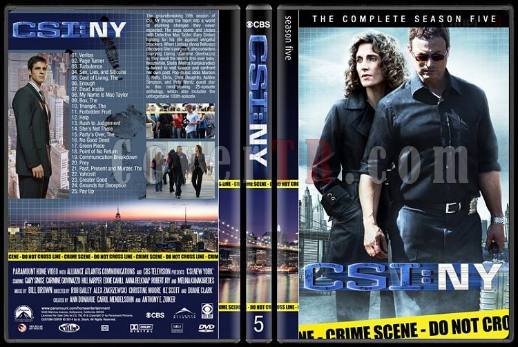CSI: NY (Seasons 1-9) - Custom Dvd Cover Set - English [2004-2013]-5jpg