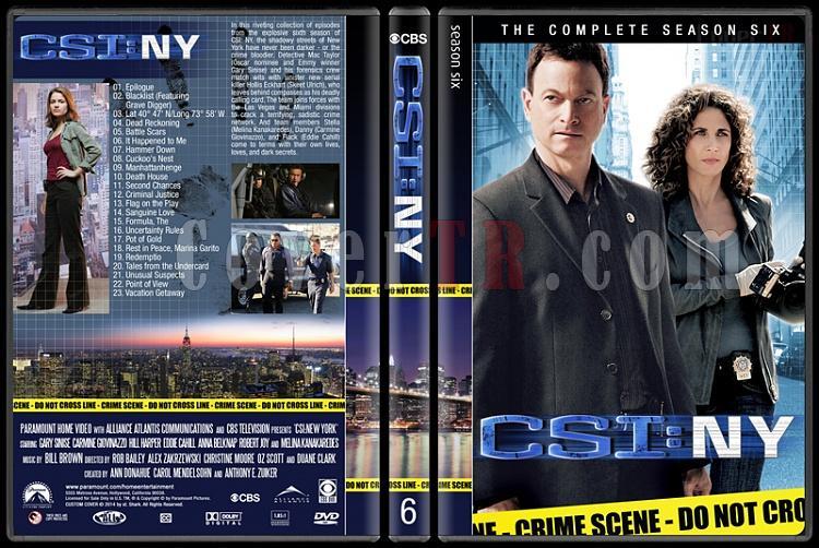 CSI: NY (Seasons 1-9) - Custom Dvd Cover Set - English [2004-2013]-6jpg