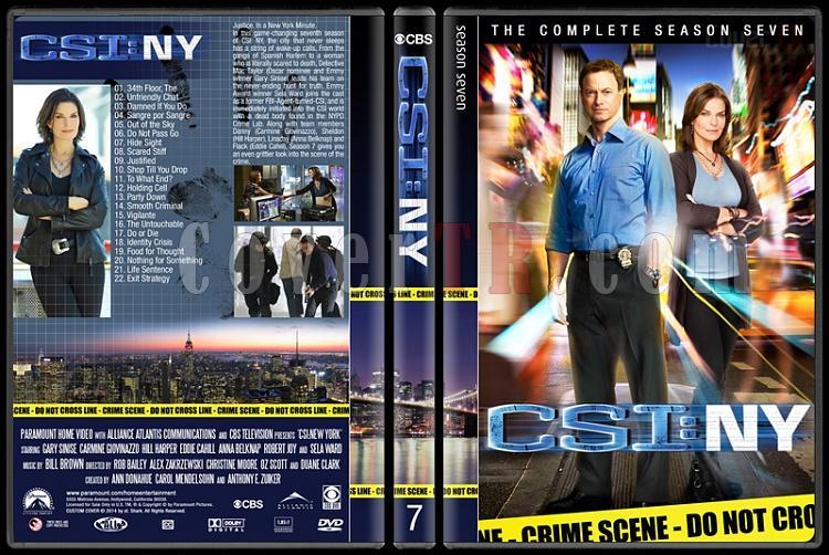 CSI: NY (Seasons 1-9) - Custom Dvd Cover Set - English [2004-2013]-7jpg