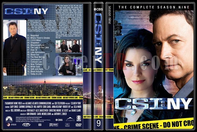 CSI: NY (Seasons 1-9) - Custom Dvd Cover Set - English [2004-2013]-9jpg