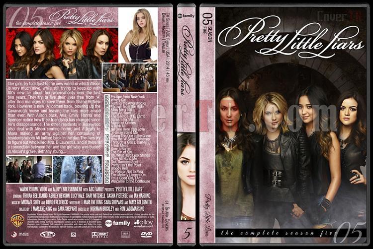 Pretty Little Liars (Seasons 1-5) - Custom Dvd Cover - English [2010- ?]-5jpg