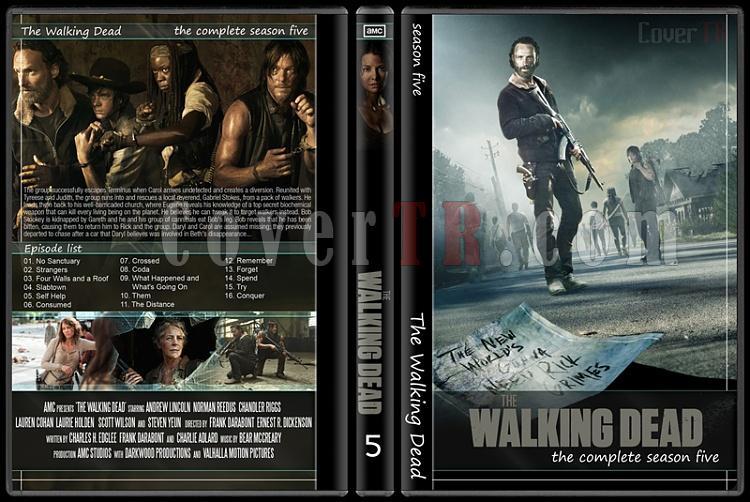 The Walking Dead (Seasons 1-5) - Custom Dvd Cover Set - English [2010-?]-51jpg