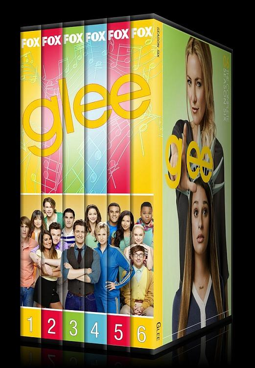 Glee (Seasons 1-6) - Custom Dvd Cover Set - English [2009-2015]-0jpg