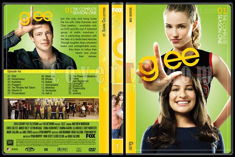 Glee (Seasons 1-6) - Custom Dvd Cover Set - English [2009-2015]-1jpg