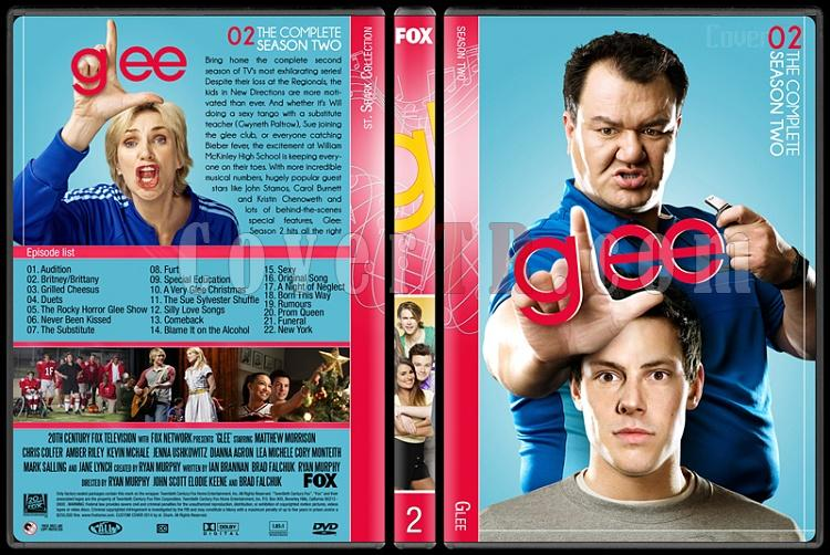 Glee (Seasons 1-6) - Custom Dvd Cover Set - English [2009-2015]-2jpg