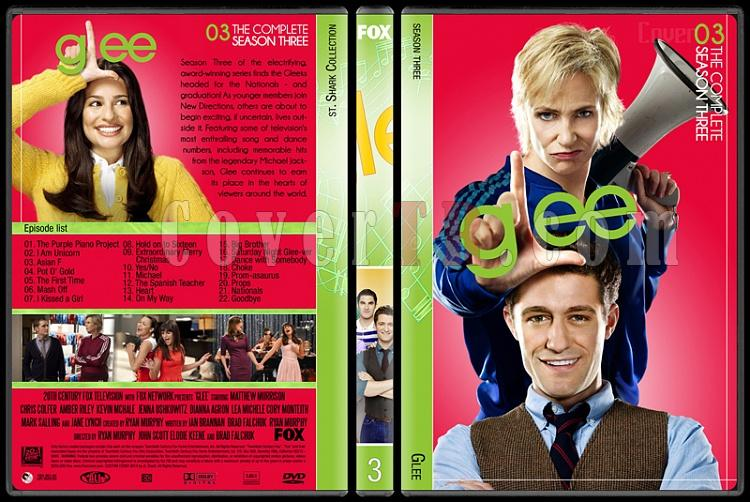 Glee (Seasons 1-6) - Custom Dvd Cover Set - English [2009-2015]-3jpg