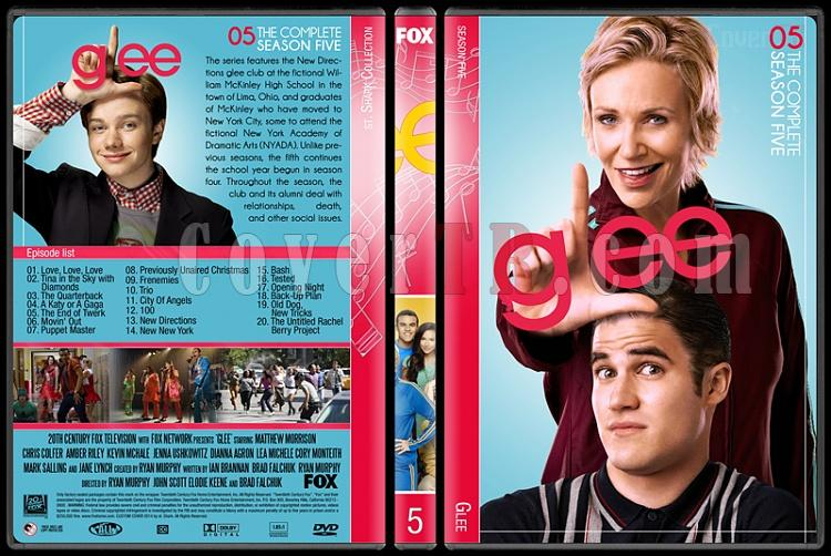 Glee (Seasons 1-6) - Custom Dvd Cover Set - English [2009-2015]-5jpg