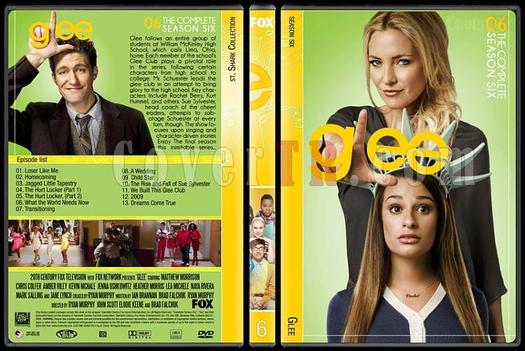 Glee (Seasons 1-6) - Custom Dvd Cover Set - English [2009-2015]-6jpg