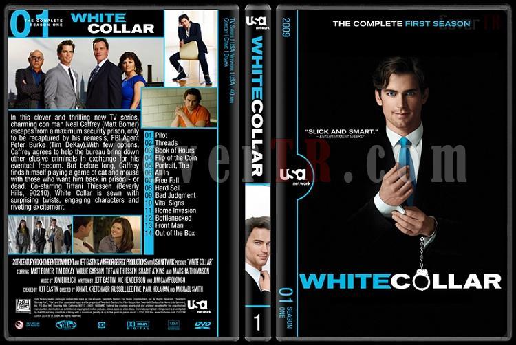 White Collar (Seasons 1-6) - Custom Dvd Cover Set - English [2009-2014]-1jpg