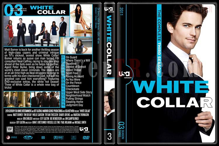 White Collar (Seasons 1-6) - Custom Dvd Cover Set - English [2009-2014]-3jpg