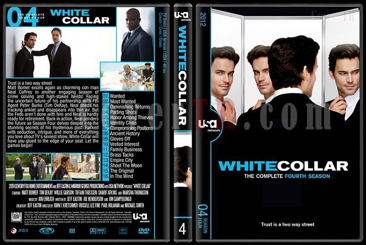 White Collar (Seasons 1-6) - Custom Dvd Cover Set - English [2009-2014]-4jpg