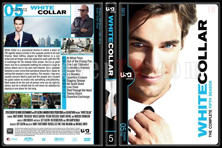 White Collar (Seasons 1-6) - Custom Dvd Cover Set - English [2009-2014]-5jpg