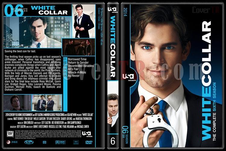 White Collar (Seasons 1-6) - Custom Dvd Cover Set - English [2009-2014]-6jpg