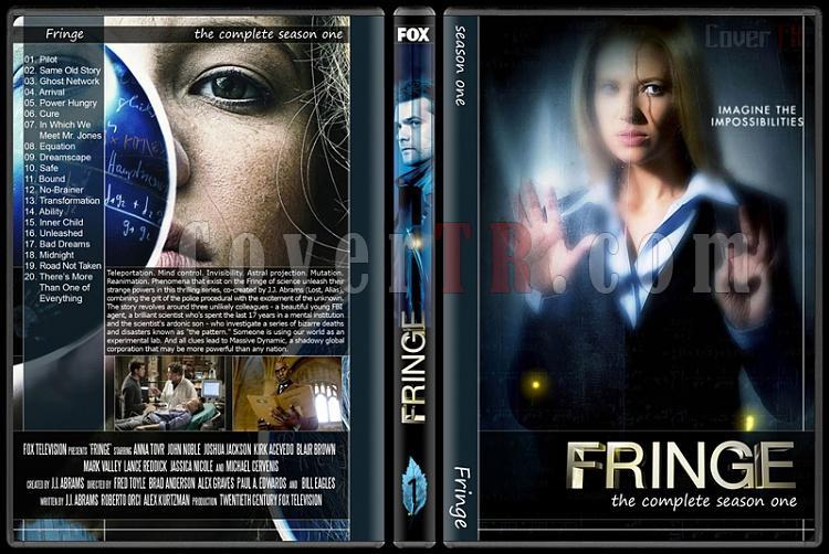 Fringe (Seasons 1-5) - Custom Dvd Cover Set - English [2008-2013]-1jpg