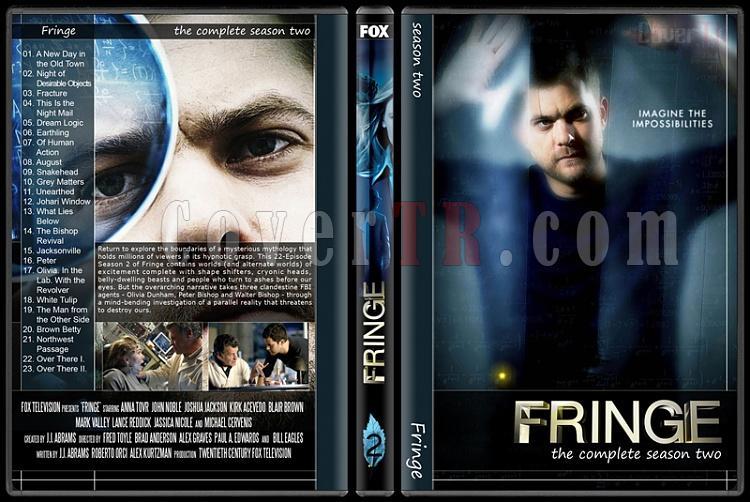 Fringe (Seasons 1-5) - Custom Dvd Cover Set - English [2008-2013]-2jpg