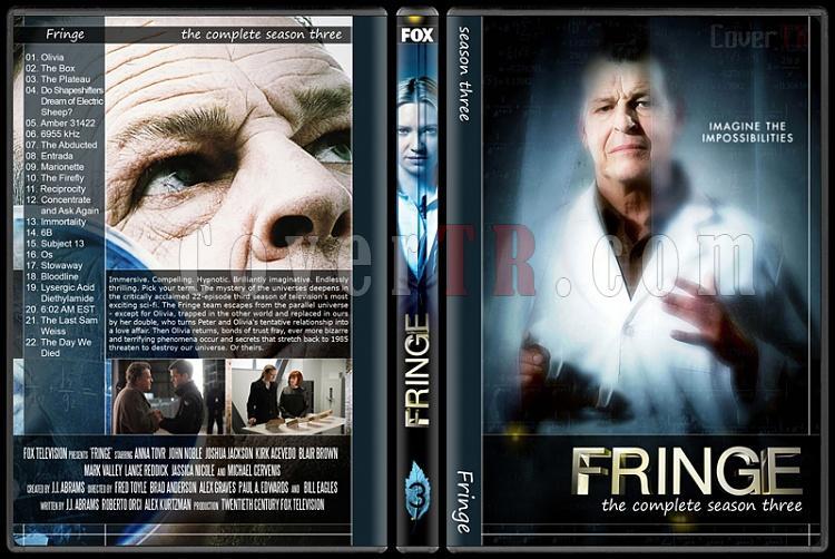 Fringe (Seasons 1-5) - Custom Dvd Cover Set - English [2008-2013]-3jpg