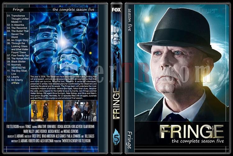 Fringe (Seasons 1-5) - Custom Dvd Cover Set - English [2008-2013]-5jpg