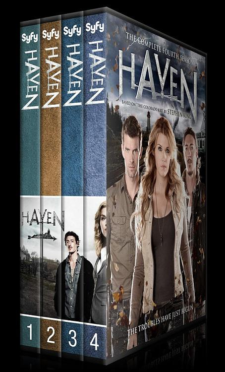 Haven (Seasons 1-4) - Custom Dvd Cover Set - English [2010-?]-0jpg