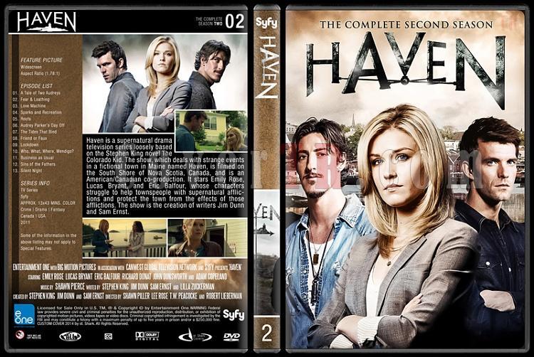 Haven (Seasons 1-4) - Custom Dvd Cover Set - English [2010-?]-2jpg